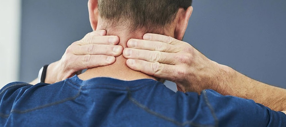 sports massage for neck pain